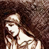 pameladlloyd: icon from <lj user-shatterwise>, art by Rackham (Pensive Woman)