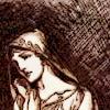 pameladlloyd: icon from <lj user-shatterwise>, art by Rackham (Pensive Woman)
