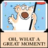 "pameladlloyd: Happy Bear by Boynton, ""Oh, What a Great Moment!"" (What a Great Moment!)"