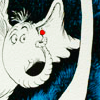 pameladlloyd: Horton the Elephant, from Dr. Suess' book, Horton Hears a Who (A Person's a Person)