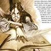 pameladlloyd: Fairy reading a book, children's book illustration by Christian Martin Weiss (Reading Fairy)