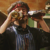 musyc: Bernard from Black Books with two bottles of wine (Black Books: Double wine)
