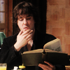 musyc: Bernard from Black Books reading (Black Books: Reading)