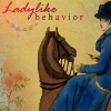 calico_sky: woman riding sidesaddle (ladylike)