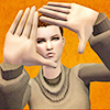shadowfell_sims: Sim!Shadowfell is framing you. (framed)