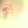 van: chris and buck as ghostly gunslingers (angel devil)