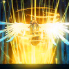 oneill: Darksiders - Azrael is wreathed in golden light (Watcher of the Well)