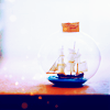 alltheships: (◘ » Ship in a bottle)