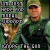 heslestor: (Moral support)