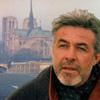 muccamukk: Joe in front of Notre Dame Cathedral (HL: Joe in Paris)