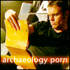 pepper: Daniel Jackson looking at archaeology porn (Archaeology porn)