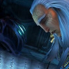 oneill: Darksiders - The Watcher narrows its eyes at a downcast Azrael (השטן)