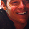 etharei: Icon of Reboot Kirk mid-laugh. (Kirk - Joy)