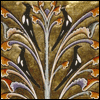mayhap: four magpies in a tree from a medieval manuscript (magpie tree)