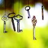 meloukhia: Keys hanging in the air (Hanging keys)