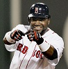 "arduinna: David ""Papi"" Ortiz of the Boston Red Sox, having a good day (Red Sox)"