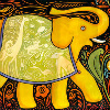 meloukhia: A drawing of an elephant (Elephant drawing)