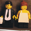sebastienne: A lego version of the Indelicates' American Demo album cover (lego indelicates)