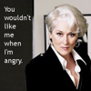 alee_grrl: Image of Miranda from Devil Wears Prada.  Text reads: You wouldn't like me when I'm angry. (dwp angry)