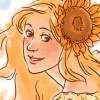 ext_51182: Luna Lovegood with a sunflower in her hair (Default)