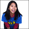akoya: Fun snap of me in Bat-Mec shirt. (Default)