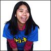 akoya: Fun snap of me in Bat-Mec shirt. (Bat-Mec Girl!)