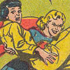 galateus: Supergirl prepares to finish Lois off once and for all, grinning evilly while Lois looks terrified. (evil kara kills lois)