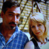 becauseichooseto: Miles Richardson posing with Lalla Ward (brax and romana)