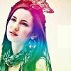 repositorian: (rainbow girl)