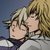 sponsorigami: anthology Ivan and Barnaby snuggling (dnt) (兎 Good Luck Spoon)