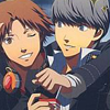 yurprotagonist: P4 Anime Art Book <user name=pixle> (IDK my bff Yosuke)