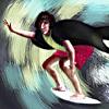busaikko: Severus Snape surfing (HP Snape surfs)