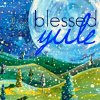 rustydog: art of full moon, valley & snow (blessed yule)