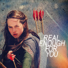 cofax7: Susan Pevensie with a bow: Real enough for you (Narnia - Susan)