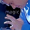 "istia: rodney mckay with a focus on his hands, text ""magic"" (sga 