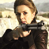 st_aurafina: Helen Magnus from Sanctuary, with a rifle (Sanctuary: Helen with a rifle)