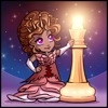 archangelbeth: A cute chibi beside a chess piece. (ChibiQoR)
