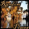 "randomplaces: A picture of a cyprus swamp with the words ""random places"" on it. (With words)"