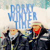 snowprism: (J² - Dorky Winter Time)