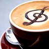 gwaihiril: Cup of coffee with a treble clef in the foam (coffee treble clef)