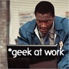 "lorax: Hardison is a Geek at Work (Lev - Hardison ""Geek At Work"")"