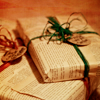 quillori: wrapped parcels (Xmas: presents)
