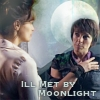 quillori: primeval: claudia and helen, text reads 'ill met by moonlight' (primeval: claudia & helen)