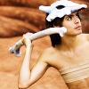 hippyjolteon: Girl holds bone like a javelin. (Cubone Girl)