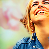 sentientcitizen: Rose Tyler throws her head back and laughs. (DW - Rose Grin)