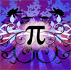 sqbr: pretty purple pi (I like pi!)