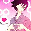 forcedsimile: (nozumu hearts you)