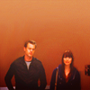 anoyo: Mark & Lexie standing next to one another. (greys mark/lexie)