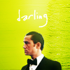 "anoyo: Arthur looking right, green background, text ""darling."" (inception darling)"
