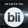 "epershand: BLI logo and ""we can fix you"" (BLI can fix you)"